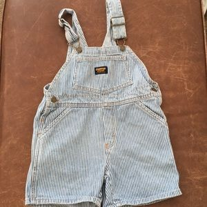 Vintage Striped Oshkosh B'Gosh Overalls